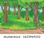 vector amazonian seamless...   Shutterstock .eps vector #1623969232