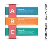 abstract paper infografics... | Shutterstock .eps vector #1623977905