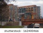 """Small photo of JANUARY 2012 - BERLIN: the """"Hauptbahnhof"""" (main train station) of Berlin."""