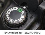 Camera Mode Dial Auto Mode