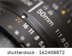 old lens marking close up | Shutterstock . vector #162408872