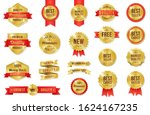 price tags vector collection.... | Shutterstock .eps vector #1624167235