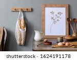 stylish interior design of...