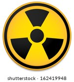 Radioactive Sign  Symbol In...