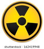 radioactive sign  symbol in... | Shutterstock .eps vector #162419948