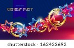 design of  invitation card by... | Shutterstock .eps vector #162423692