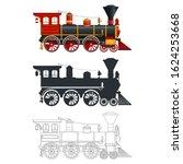 Vintage Steam Locomotive In...