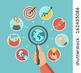 vector business concept   start ...   Shutterstock .eps vector #162435086