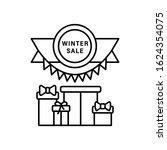 gift box ribbon icon. simple...