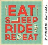 vintage template   retro design ... | Shutterstock .eps vector #162436652