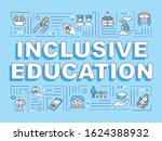 inclusive education word...