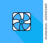 pc cooling fan liner fill...