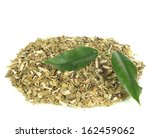 Dry Mate Tea  Isolated On White