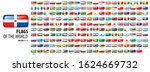 national flags of many...   Shutterstock .eps vector #1624669732