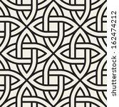 celtic seamless pattern.... | Shutterstock .eps vector #162474212
