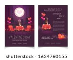 valentines day flyer ... | Shutterstock .eps vector #1624760155