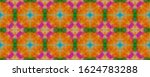 uzbekistan hippie batik print....   Shutterstock . vector #1624783288