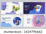set of people creating green... | Shutterstock .eps vector #1624796662