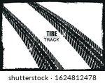 grunge tire track background... | Shutterstock .eps vector #1624812478