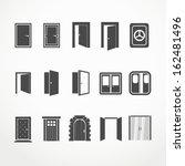 Different Doors Web Icons...