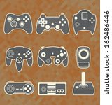 Vector Se: Retro Video Game Controllers