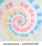 Tie Dye Pattern. Aquarelle...