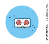 video graphics array icon...