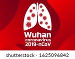 wuhan coronavirus 2019 ncov... | Shutterstock .eps vector #1625096842
