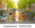 Bikes On The Bridge In...