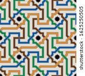 colorful ornate seamless vector ...   Shutterstock .eps vector #1625250505