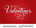 valentines day background with...   Shutterstock .eps vector #1625267605