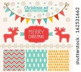 Christmas Set Of Design...