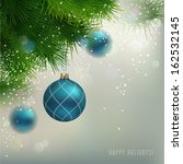 christmas background with... | Shutterstock .eps vector #162532145