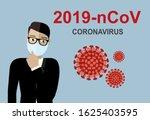 wuhan coronavirus 2019 ncov... | Shutterstock .eps vector #1625403595