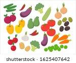 various fresh colorful... | Shutterstock .eps vector #1625407642