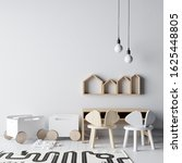 interior kids room wallpaper... | Shutterstock . vector #1625448805