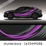 car wrap decal design vector ... | Shutterstock .eps vector #1625449288