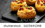 Hot Baked Potato Topped With...