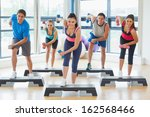 full length of instructor with... | Shutterstock . vector #162568466