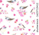 seamless pattern with cute... | Shutterstock .eps vector #1625715412