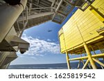View Of Helicopter Deck And...