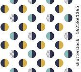 seamless geometric pattern.... | Shutterstock .eps vector #1625861365