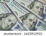 pile of one hundred us dollar... | Shutterstock . vector #1625912932