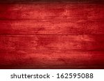 Red Planks Background Or Woode...