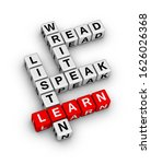 basic language skills. read ...   Shutterstock . vector #1626026368