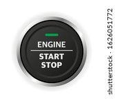 engine start stop button. car... | Shutterstock .eps vector #1626051772