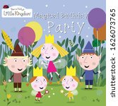 ben and holly's little kingdom... | Shutterstock .eps vector #1626073765