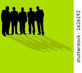 business men standing   Shutterstock .eps vector #1626192
