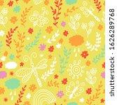 seamless flowers pattern ... | Shutterstock .eps vector #1626289768