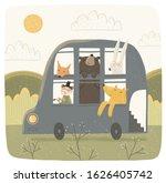 cute vector illustration of a... | Shutterstock .eps vector #1626405742